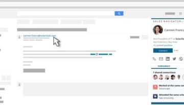 LinkedIn lanzó una versión gratuita de Sales Navigator