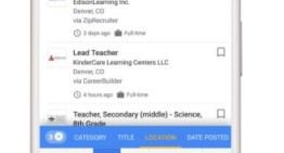 Google ahora cuenta con nueva herramientas para encontrar trabajo directamente desde el buscador