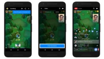 Facebook Live ya permite la transmisión de juegos desde Messenger