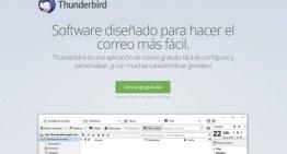 Mozilla anuncia la modernización de Thunderbird