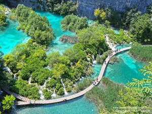 Sweating in Beauty - Plitvice National Park