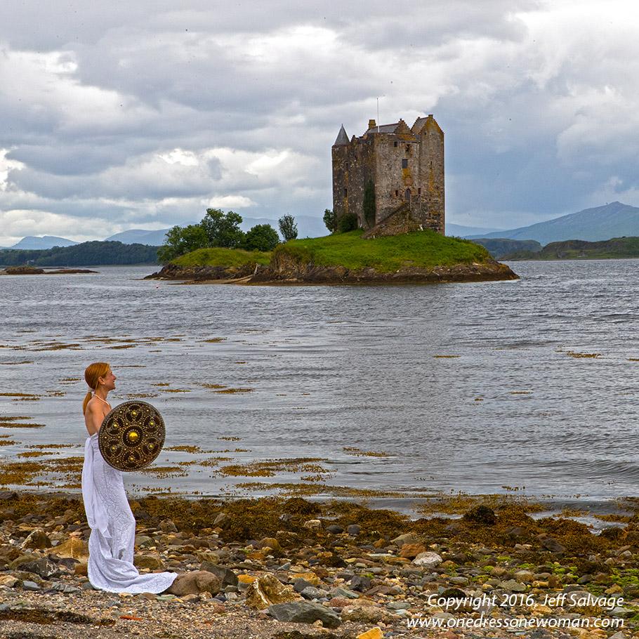 Castle Stalker or the Castle of Arrrgghhh - Scotland