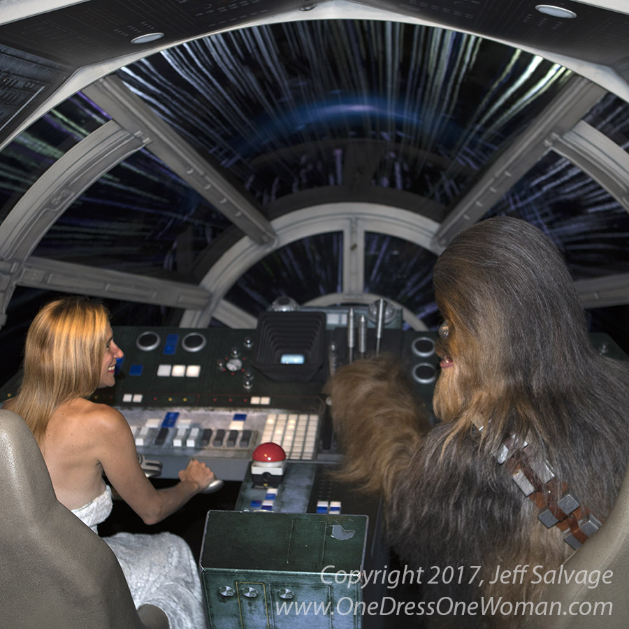 No! We're not interested in the hyperdrive