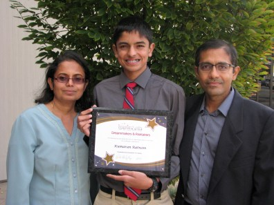 Kumaran Ratman and Family