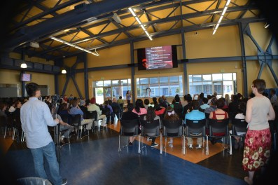 Dublin High School Engineering Entrepreneur Competition 2015 Audience 1
