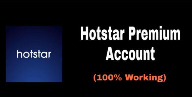 HotStar Premium Account 2021