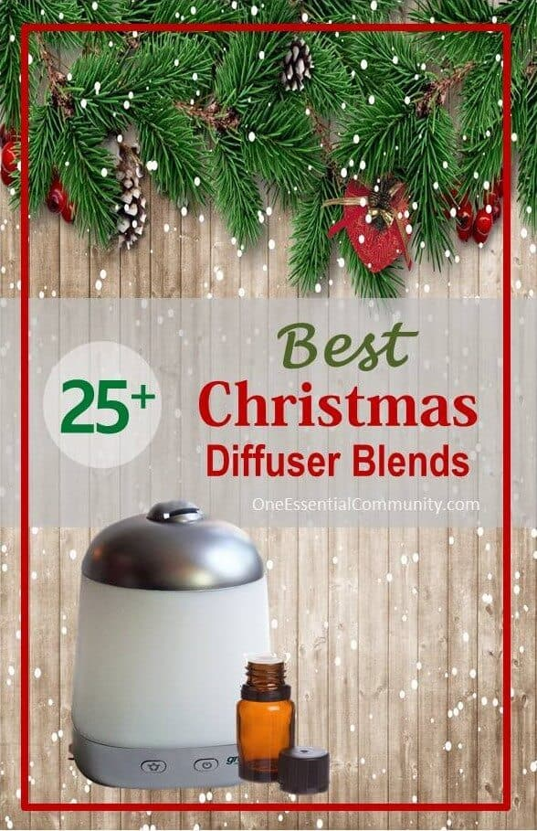 Love that this has many of my favorite Christmas essential oil diffuser blends all in one place- Gingerbread Man, Candy Cane Surprise, Holiday Joy, Christmas Tree Forest, All Is Calm, and many more of my favorites! #essentialoils #essentialoilrecipes doTERRA, Young Living, essential oil recipes, Christmas diffuser recipes