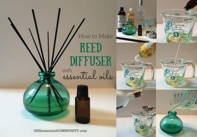How to Make a Reed Diffuser with Essential Oils fb