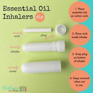 DIY essential oil inhalers-- These inhalers are extremely easy use to make and use. I love how convenient they are to carry in my purse so that I always have them when I need it.