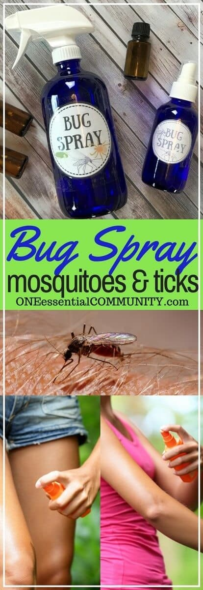 DIY kid-safe bug spray that really works! great for mosquitoes, flies, gnats, and ticks. Homemade, natural, and made with essential oils.