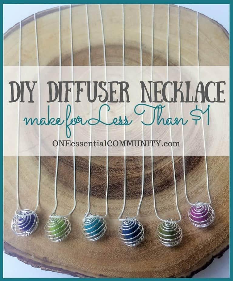 essential oil diffuser necklaces