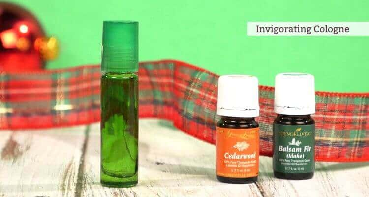 DIY cologne for men made with essential oils