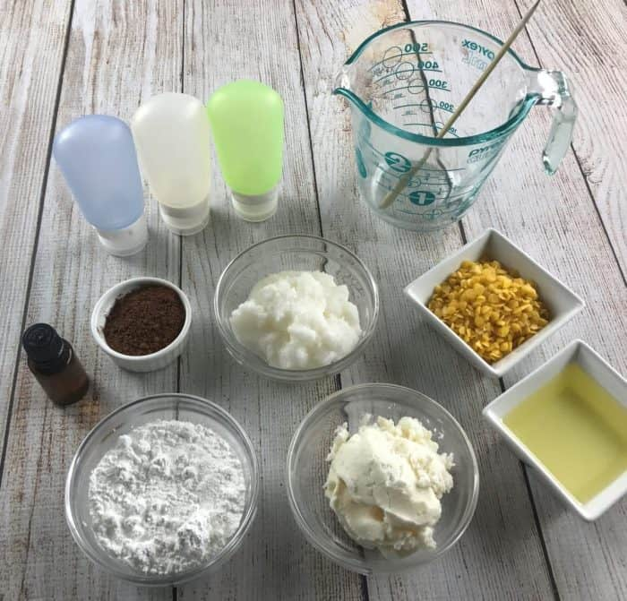 homemade essential oil sunscreen recipe. It's water resistant, protects against UVA and UVB , and SPF 30+. Plus it rubs in completely and it's not sticky or overly greasy. {DIY natural sunscreen recipe, essential oil recipe, essential oil DIY, doTERRA, Young Living, Plant Therapy}