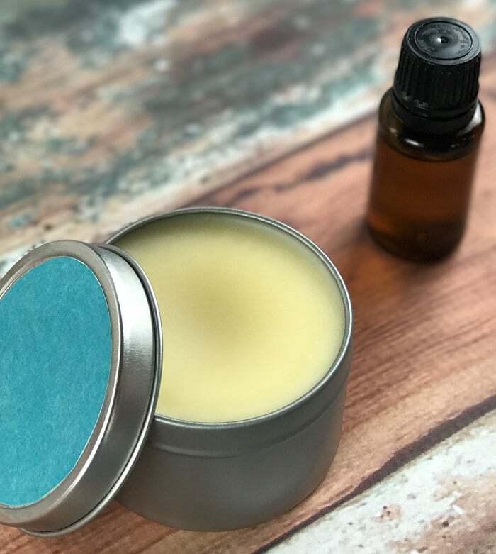 DIY essential oil sleep salve for a great night's sleep