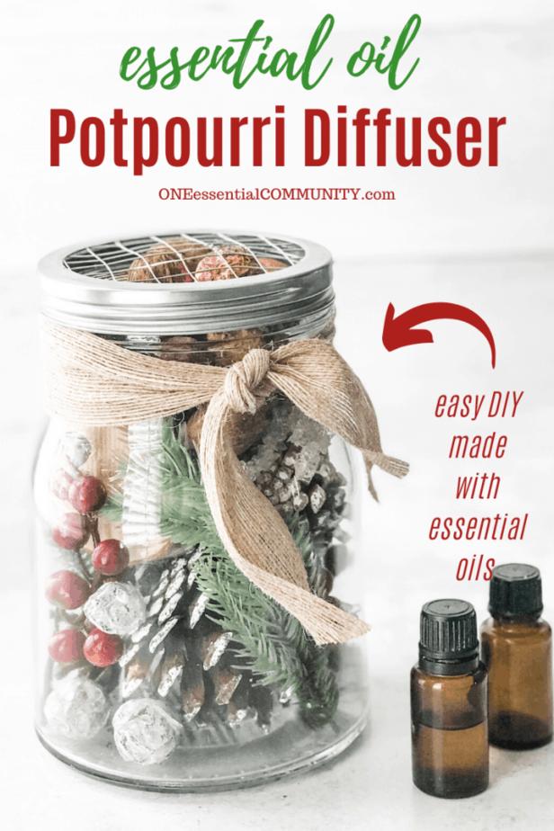 essential oil potpourri diffuser