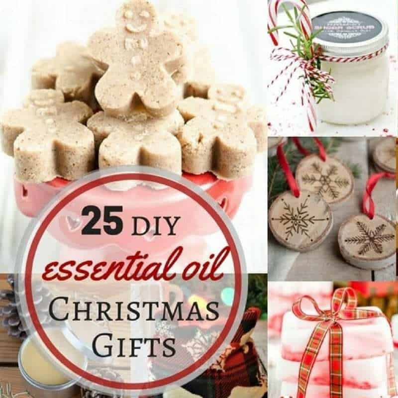 25+ Easy Homemade Essential Oil Gifts For Christmas
