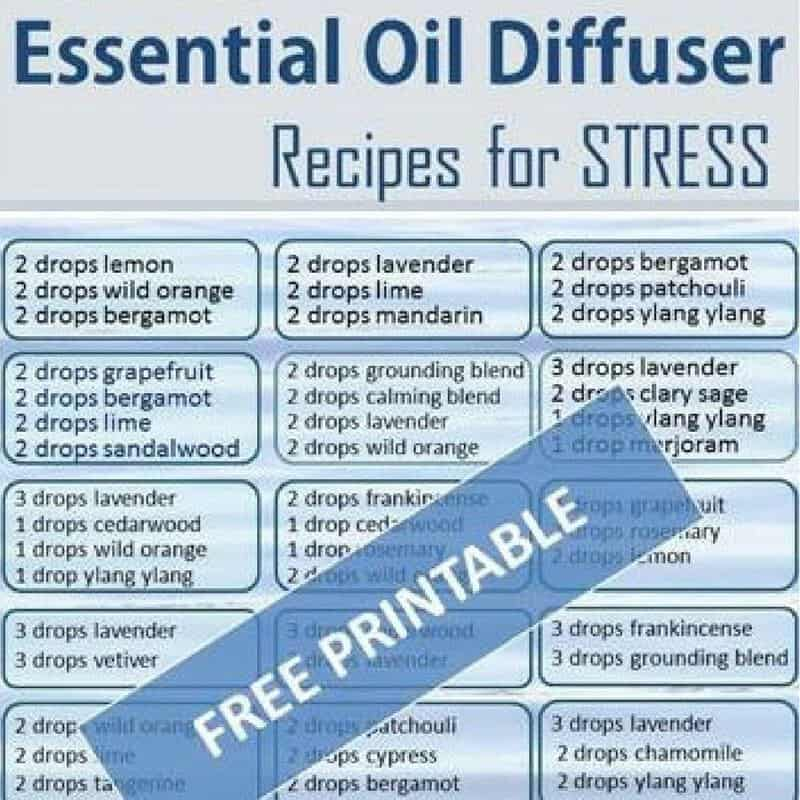 what aromatherapy oils for stress relief
