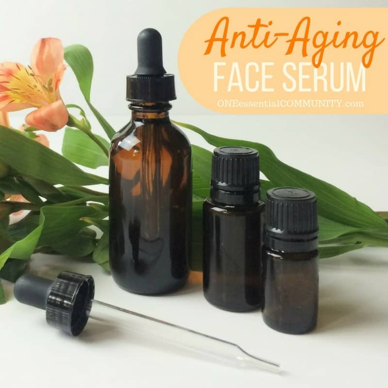 Face Serum Recipes for dry, acne, sensitive, oily, mature