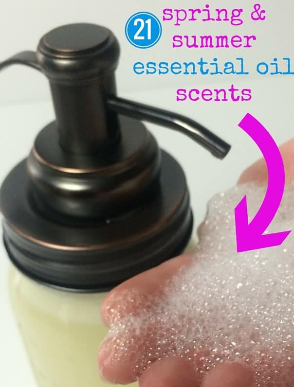 50 Spring Essential Oil Recipes (spring diffuser blends, roller bottle recipes, DIY cleaning, seasonal allergies, sinus headache remedy, bug sprays. homemade air fresheners, and more} #doTERRA #YoungLiving #yl #essentialoils #DIY #natural #DIYcleaning