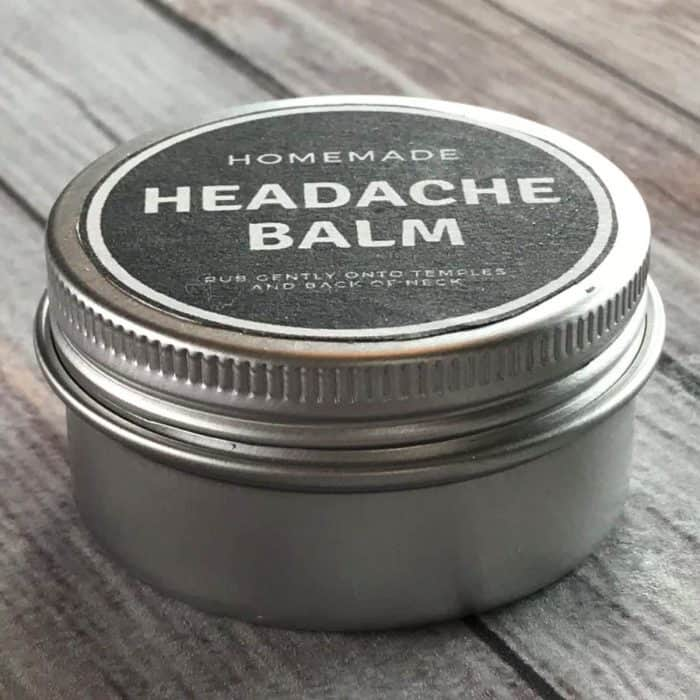 This one natural headache relief balm stops headache pain from all kinds of headaches - tension, stress, allergy-triggered, hormones (PMS and menopause), migraine, and sinus headaches. it's an easy DIY made with the natural goodness of essential oils. #essentialoils #essentialoilrecipes #DIYrecipes #yleo #doterra #essentialoiluses #naturalremedies #headacheremedies #headacherelief #headacheessentialoil #headache