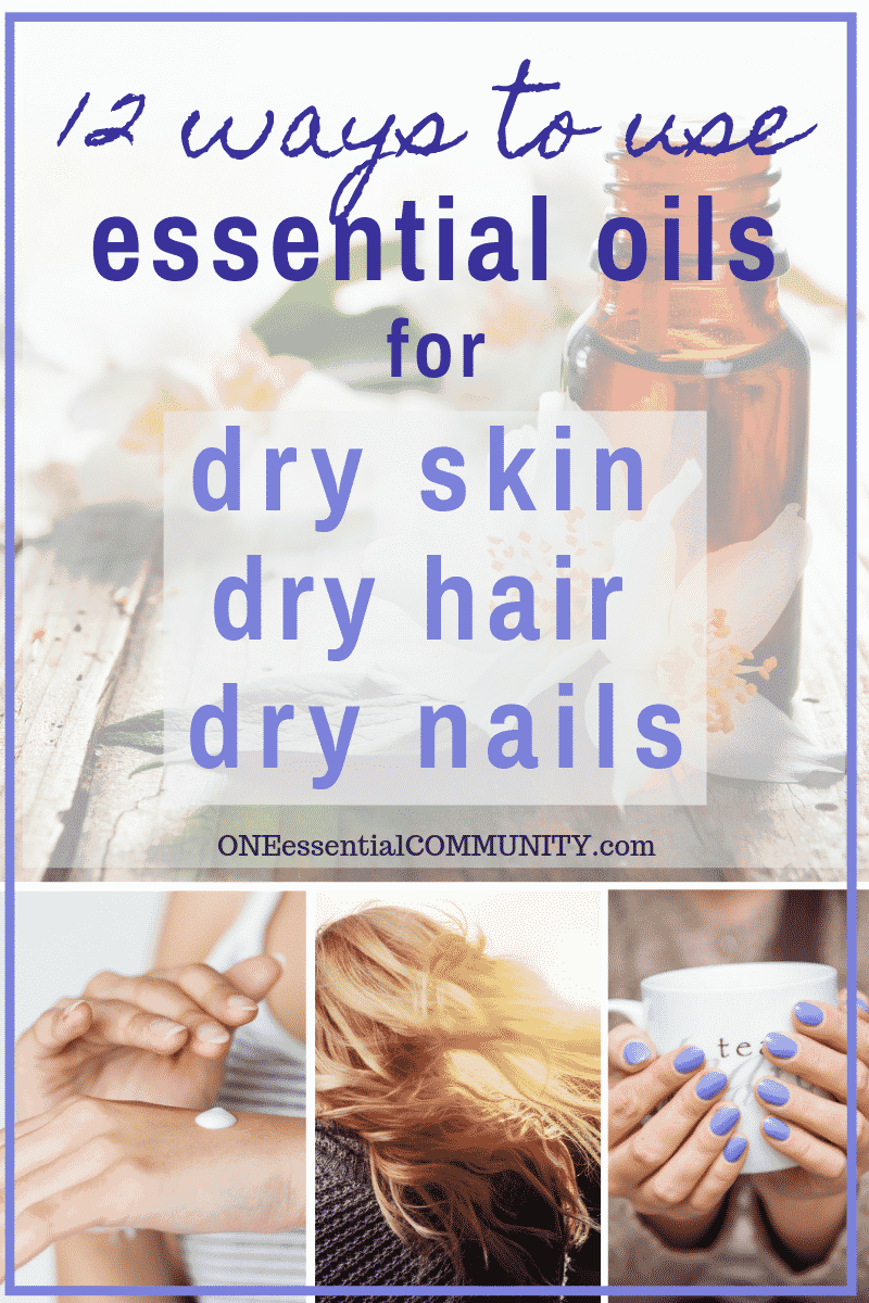 12 natural remedies using essential oils to help moisturize, soothe, and nourish dry skin, hair, and nails- DIY recipes for whipped body butter, super creamy dry hand lotion, dry shampoo, essential oil nail serum, lotion bars, homemade face wash, DIY face serum, moisturizing hand soap, and more! {essential oil recipes, doTERRA, Young Living, Plant Therapy, natural beauty recipes} #doTERRA #YoungLiving #DIYrecipes #DIYbeauty #essentialoils