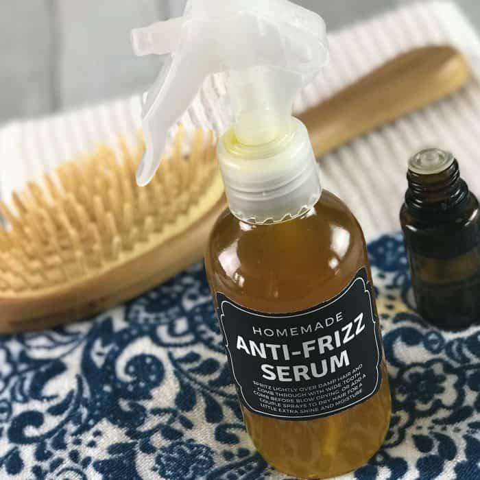 Homemade Anti Frizz Serum For Soft Shiny Hair One