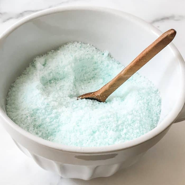vapor bath soak for colds and congestion