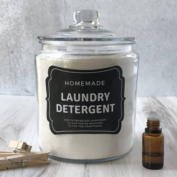 Homemade Laundry Soap One Essential Community Made With Essential Oils