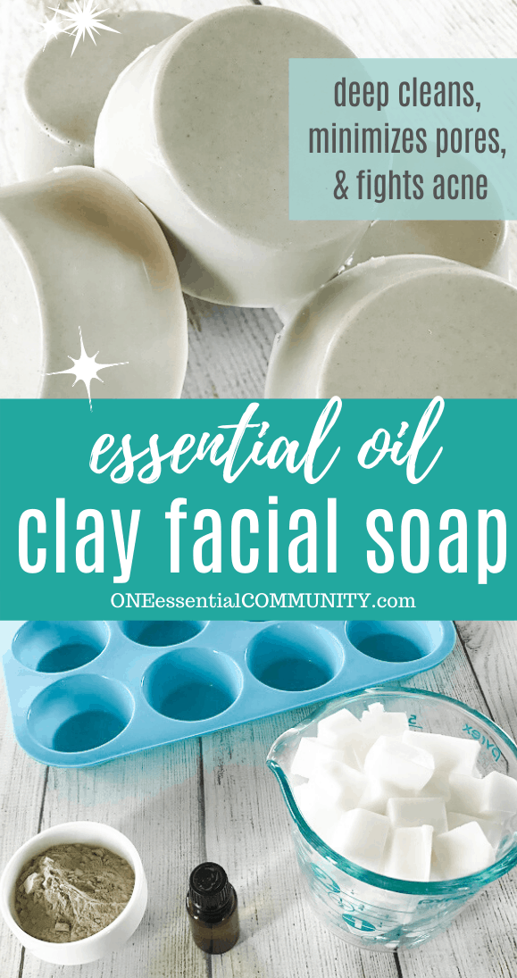 essential oil clay facial soap bars deep cleans minimizes pores fights acne soap bars and ingredients and supplies