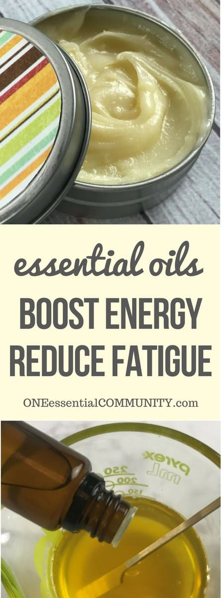 boost energy and reduce fatigue with essential oil energy boosting cream