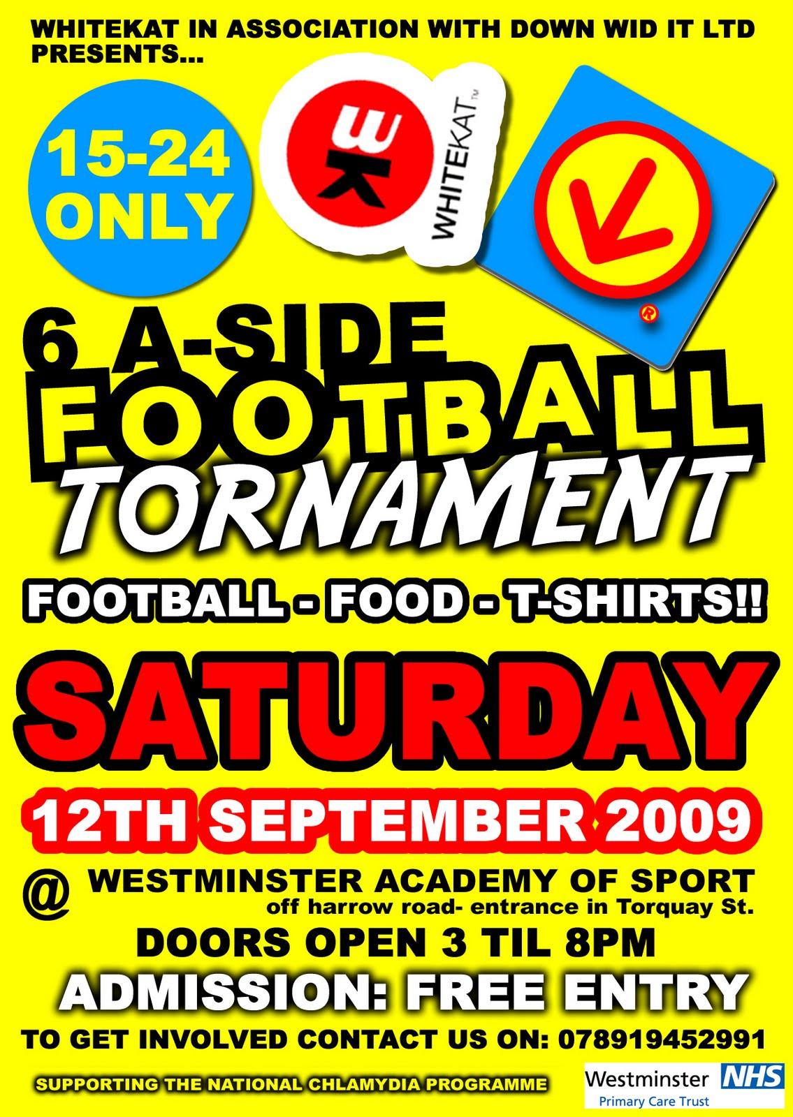 DWi 6-A-Side Football Tournament