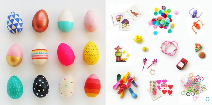 easter eggs blank goods