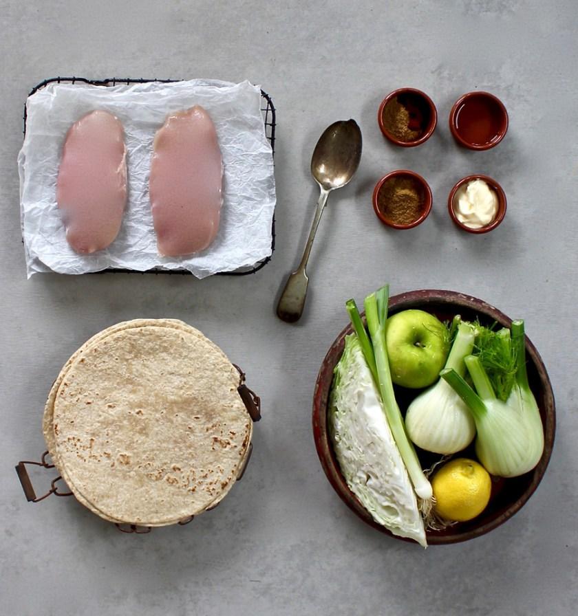 GrilledChickenTaco_ingredients