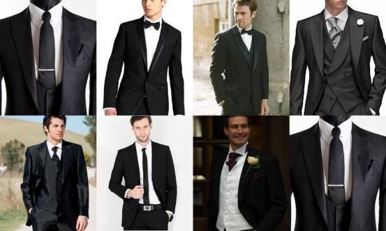 Fekete öltönyök