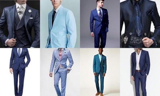 Kék öltönyök