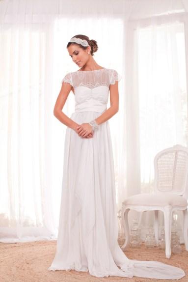 Anna Campbell , Indiana menyasszonyi ruha / Anna Campbell, Indiana bridal dress Forrás:www.annacampbell.com