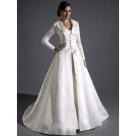 Eternity Bride téli menyasszonyi kabát / Eternity Bride winter wedding bridal coat Forrás:http://www.graciebleubridal.co.uk