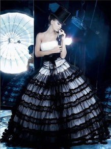 Fekete menyasszonyi ruha 13, Black Wedding Gown 13 Forrás:http://semut.onsugar.com