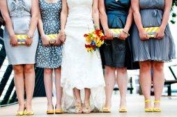 Koszorúslány kézitáska 14 Wedding bridesmaid clutches 14 Forrás:http://www.etsy.com