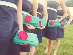 Koszorúslány kézitáska 16 Wedding bridesmaid clutches 16 Forrás:http://www.etsy.com