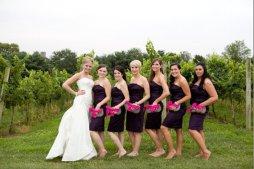 Koszorúslány kézitáska 5, Wedding bridesmaid clutches 5 Forrás:http://www.etsy.com