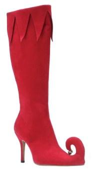 Mikulás menyasszonyi csizma , Mrs.Claus wedding boots Forrás:http://lizfielding.blogspot.hu
