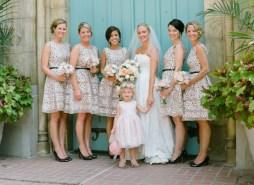 Pöttyös koszorúslány ruha 2 / Polka dot bridesmaid dresses 2 Forrás:http://www.greylikesweddings.com