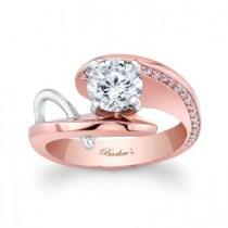 Rózsaszín arany eljegyzési gyűrű 6/ Rose gold engagement ring 6 Forrás:http://www.barkevs.com