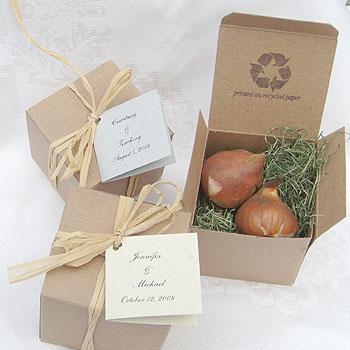Tavaszi esküvői köszönet ajándék-hagymák 4 / Spring wedding favors-bulbs 4 Forrás:http://www.flowerweddingfavors.com
