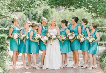 Türkiz koszorúslányruha 3 / Turquoise bridesmaids dress 3 Forrás.http://southernweddings.com