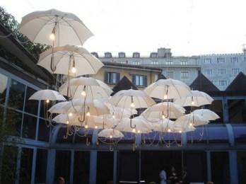 Esernyő világítás , Umbrella ceiling light Forrás:http://www.architectlines.com/