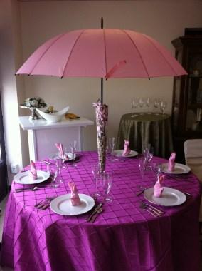 Esernyős asztaldekoráció 2 , Umbrella table decoration 2 Forrás:http://www.splendorforyourguests.com/