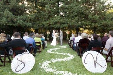 Esernyős esküvői dekoráció 2, Umbrella wedding decoration 2 Forrás:http://trebellaevents-blog.com/