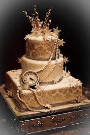 Szilveszteri menyasszonyi torta 3, New Years Eve Wedding cake 3 Forrás:http://www.vineyardsweets.blogspot.hu/